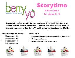 Little Berry Events Berry Yo