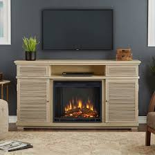 Electric Fireplace Entertainment Center Cavallo Electric Fireplace Entertainment Center Weathered White