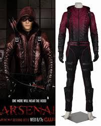 Green Arrow Halloween Costume Green Arrow Season 3 Red Arrow Roy Harper Halloween Costume