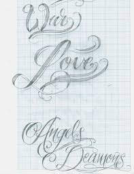 tattoo script lettering 12 by 12kathylees12 on deviantart