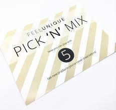 free beauty samples feel unique pick u0027n u0027 mix em u0027s mixed bag