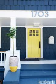 yellow and blue paint combinations interior painting