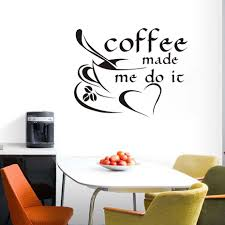 compare prices on kitchen inspiration online shopping buy low coffee made me do it inspirational quote wall sticker coffee cup vinyl adhesive art mural wall