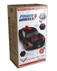 corvette power wheels power wheels 6v corvette ride on black walmart com