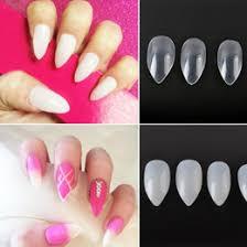 discount nails full tips natural 2017 nails natural long full