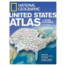 Us atlas for young explorers revised 3rd ed national