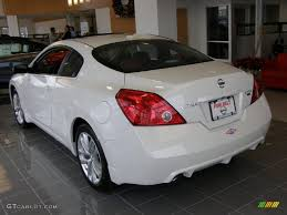 nissan altima white 2012 2011 winter frost white nissan altima 3 5 sr coupe 41534885 photo