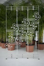 wrought iron room divider 76 best interiors freestanding dividing screens images on