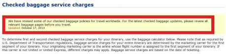 United Oversized Baggage Fees United Airlines Reduces Star Alliance Gold Checked Baggage