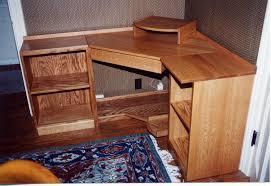 custom built computer desks office custom made home office furniture handmade built in home
