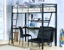 Free Loft Bed Plans Full Size by Desk Free Full Size Loft Bed With Desk Plans Full Size Wood Loft