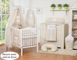 chambre enfant beige parure lit bébé 120 60 ou 140 70 beige à pois à coeurs