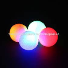 light up golf balls china dark night tracker flashing light up glow led golf balls on
