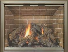 Air Tight Fireplace Doors by Fireplace Replacement Doors For Masonry Fireplaces