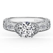 marquise diamond engagement ring kirk kara dahlia 14k white gold marquise diamond engagement ring