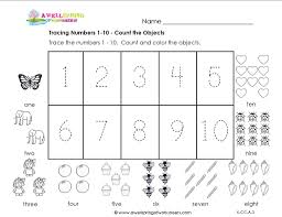 Fact Family Worksheets Numbers Tracing Worksheets 1 20 With Number Tracing 1 10 Math Year