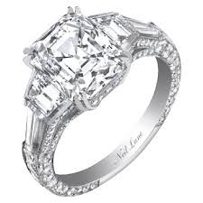 neil emerald cut engagement rings 93 best jewelry neil images on neil