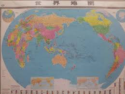 China On The World Map by Shanghai Or Bust China At Large