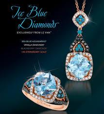 kay jewelers chocolate diamonds le vian sea blue aquamarine ring zubv 264 and pendant zubv