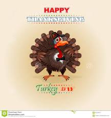 happy thanksgiving message and turkey wearing a farmer