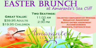 Easter Brunch Buffet Menu by Easter Brunch