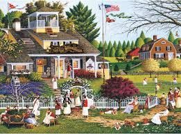 this 1000 jigsaw puzzle from famed folk artist charles