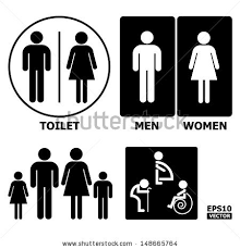 Man Woman Bathroom Symbol Toilet Sign Stock Images Royalty Free Images U0026 Vectors Shutterstock