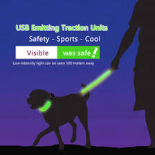 dog collar lights waterproof discount dog collar lights waterproof 2018 dog collar lights