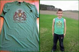 Upcycle Old Tshirts - sunnysewing upcycle 3 t shirts to kids tanks