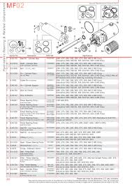 massey ferguson front axle page 56 sparex parts lists