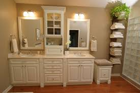 very small bathroom storage ideas double square drawers brown