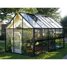 outdoor black paint aluminium palram greenhouse also grass