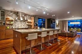 cuisine ouverte ilot central ide de cuisine ouverte idee amenagement cuisine ouverte sur