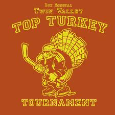 turkey puck rich powell illustration