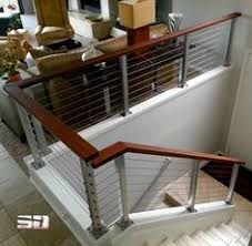 tension wire stair railing traditional home lafrance