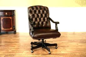 tufted leather desk chair leather office desk chair leather desk chair high back executive