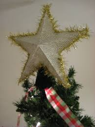 leaf and letter handmade no budget christmas decor star tree topper