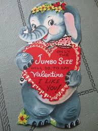 jumbo s day cards 384 best vintage valentines day cards images on