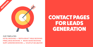 jonny contact page for leads generation u0026 coming soon template