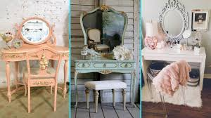 Home Decor Vanity Diy Vintage Shabby Chic Vanity Decor Ideas 2017 Home Decor