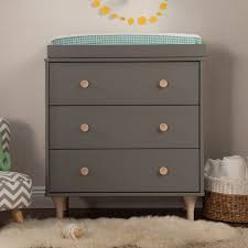 Babyletto Dresser Changing Table Babyletto Lolly 3 Drawer Changer Dresser Baby Logic