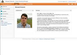 resume website exles resume portfolio exles creative vcard website