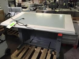 Hamilton Drafting Tables Hamilton Dial A Light Adjustable Light Drafting Table