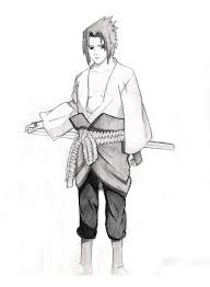images of uchiha sasuke sketches naruto sc