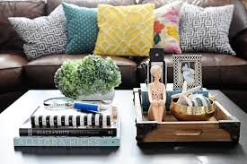 How To Style A Coffee Table Coffee Table Styling Make Over Your Coffee Table With These