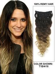 24 inch extensions inch wave clip in hair extensions ombre 9 pieces