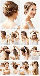 Einfache Hochsteckfrisurenen F Mittellange Haare by Leichte Hochsteckfrisur Schulterlange Haare