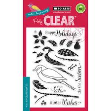 arts clear st color layering dimensional bird