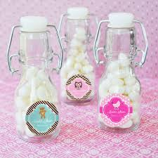 baby shower bottle favors baby shower personalized mini glass bottle favors