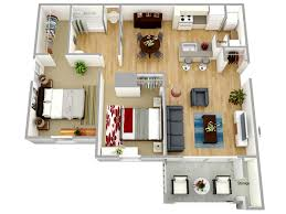 Floor Plan Of An Apartment Models Columbus Station Virginia Beach Apartments